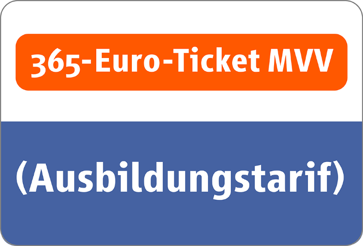 365-Euro-Ticket MVV