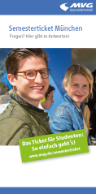 Semesterticket Infoflyer