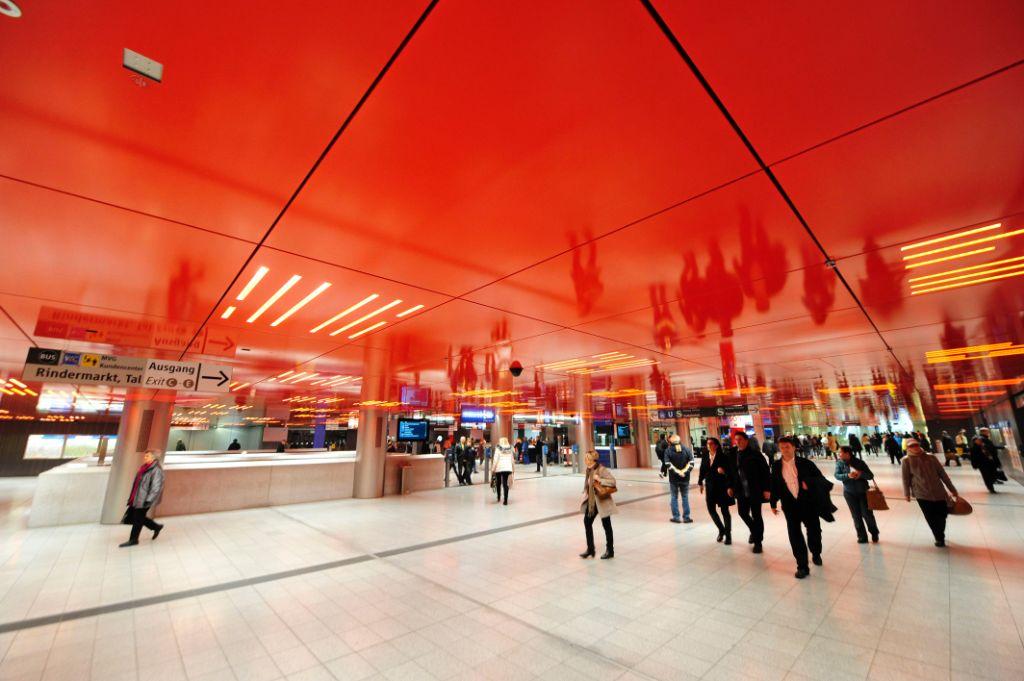 U S Bahnhof Marienplatz Modernisiertes Zwischengeschoss