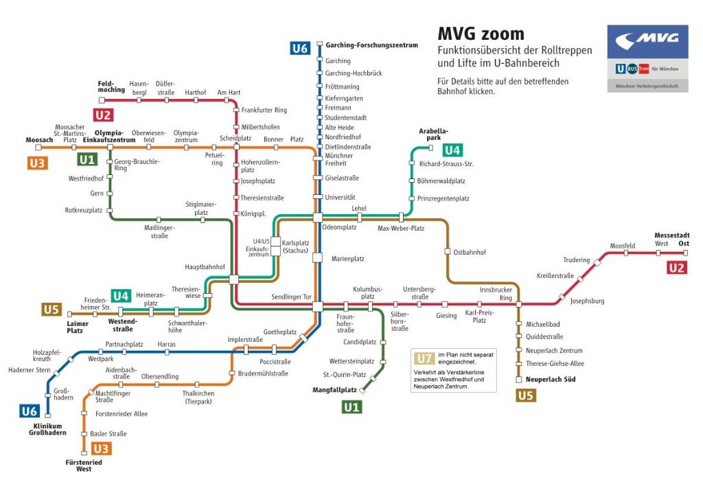 Lifte Und Rolltreppen Münchner Verkehrsgesellschaft Mbh